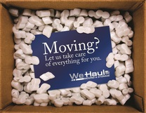 We Haul Moving's logo