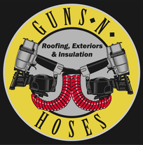 Guns N Hoses Roofing, Exteriors & Insulation's logo