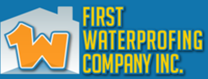 First Waterproofing Company's logo