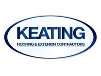 Keating Roofing's logo