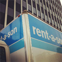 Rent-a-Son's logo