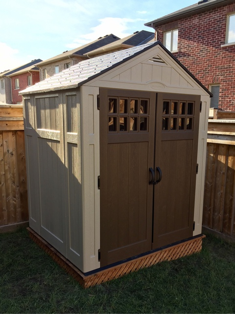 Shed installation with wooden    | Review of The Shed