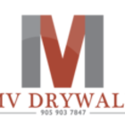 MV Drywall's logo