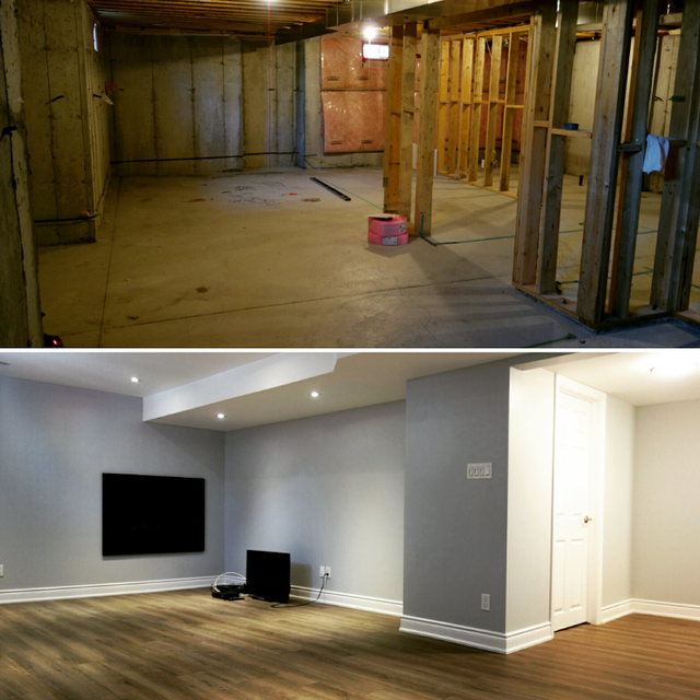 review of robinson renovations basement renovation in
