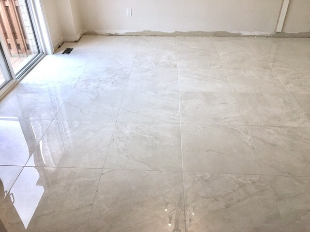 Kitchen And Foyer 24x24 Review Of Precision Marble And Tile