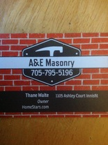 A&E Masonry And Landscaping's logo
