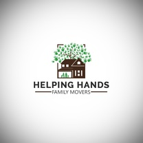 Helping hands family movers Inc 's logo