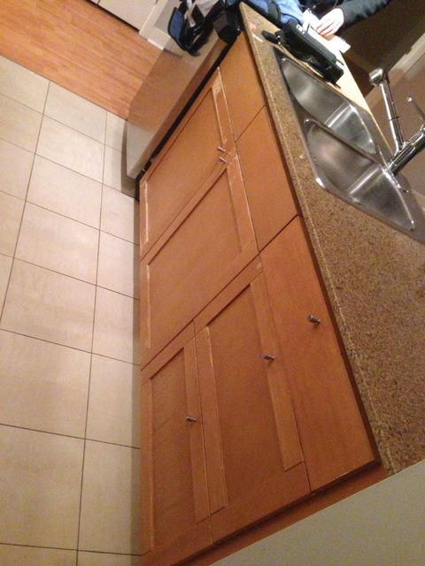 Review of pfc refinishing paint wallpaper contractors for Kitchen cabinets repair contractors