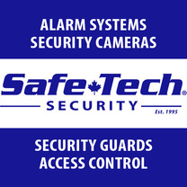 SafeTech Alarm Systems and Video Surveillance's logo
