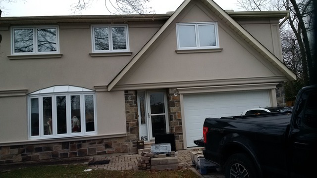 Exterior by design stucco and stone inc in toronto homestars for Exterior by design stucco stone
