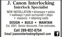 J Canon Interlocking's logo