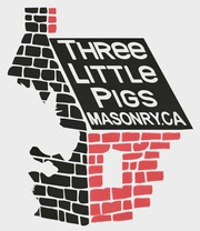 Three Little Pigs Masonry Inc's logo