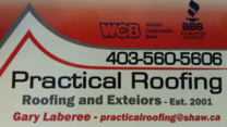 Practical Roofing & Exteriors Ltd.'s logo