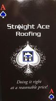 Straight Ace Roofing's logo