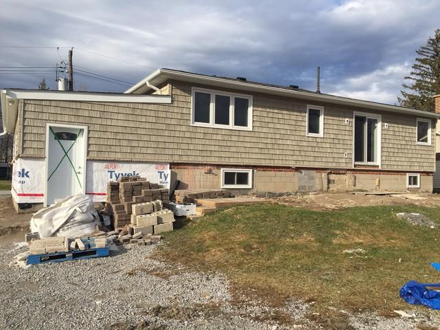 Review of home exterior aluminum siding in georgina for House siding reviews