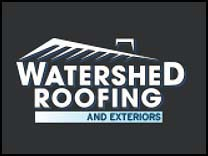 Watershed Roofing's logo