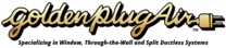 Golden Plug Air's logo