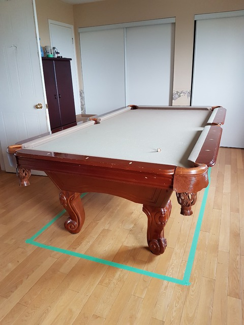 Review Of The Canada Movers Game Rooms Entertainment In Courtice - Move my pool table