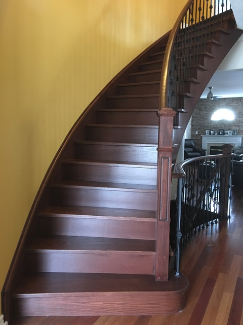 Elegant In And Out In 4 Days. They Were Professional, Courteous And Polite. We  Could Not Be Happier With The Work They Performed And Our New Stairs!  Thanks So Much!