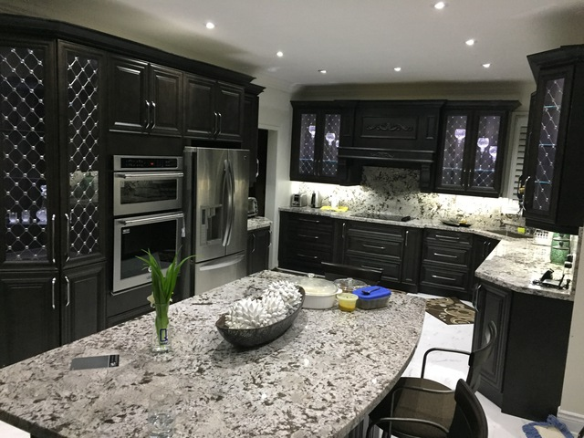 Our family and friends are amazed when they see our kitchen  The staff at Brampton  Kitchen are very professional people  Thank you both for make our dream. Brampton Kitchen   Cabinets Ltd   HomeStars