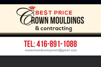 Best Price Crown Moulding's logo