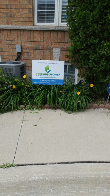 Consumers Energy Management In Vaughan Homestars