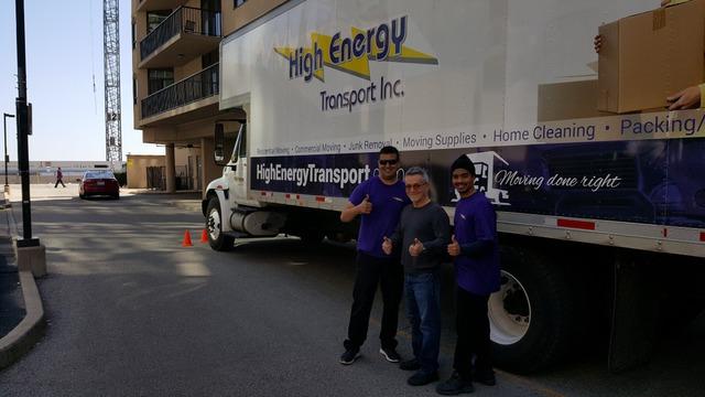 High Energy Transport Inc Moving Amp Storage In Brampton