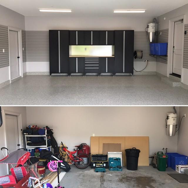 New Garage Flooring: Garage Design & Organization In Vaughan