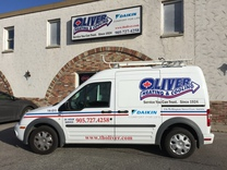 Oliver Heating & Cooling's logo