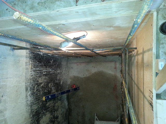 concrete work for an    | Review of M Scott Home
