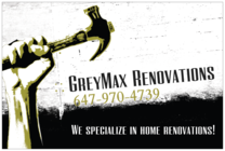 Greymax Renovations's logo