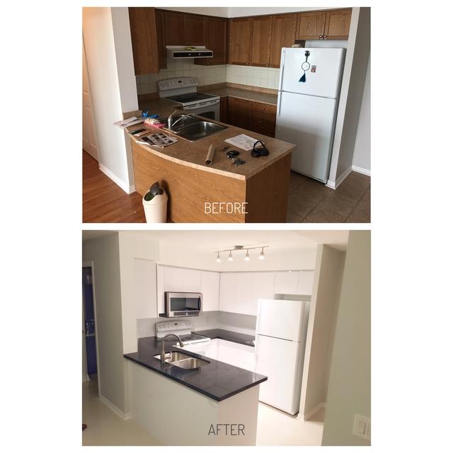 Review of jiangs home renovation inc condominium for Renovation review