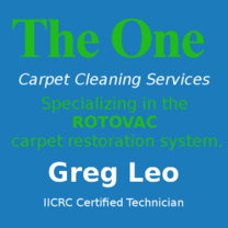 The One Carpet Cleaning Services's Logo