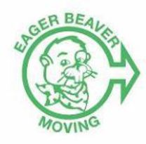 Eager Beaver Moving's logo