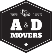 A & D Movers's logo