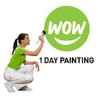 Wow 1 Day Painting Barrie's logo