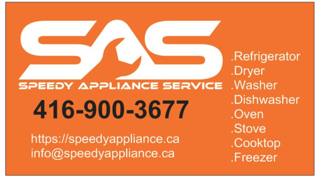 Speedy Appliance Repair Appliance Repair In Markham