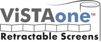 Vista One Retractable Screens's logo