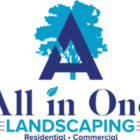 All In One Landscaping's logo