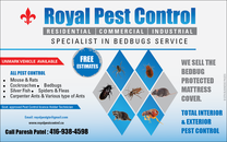 Royal Pest Control's logo