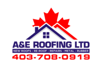 A&E Roofing's logo
