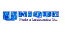 Unique Pools And Landscaping Inc.'s logo