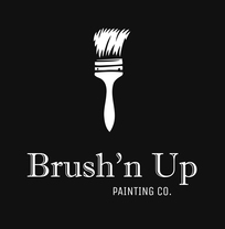 Brush'n Up Painting Co.'s logo