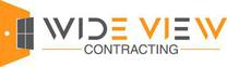 Wide View Contracting's logo