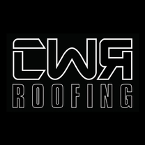 CWR Roofing's logo