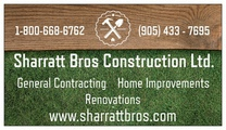 Sharratt Bros Construction Ltd.'s logo
