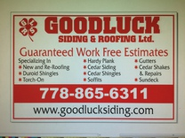 Goodluck Siding And Roofing Ltd 's logo