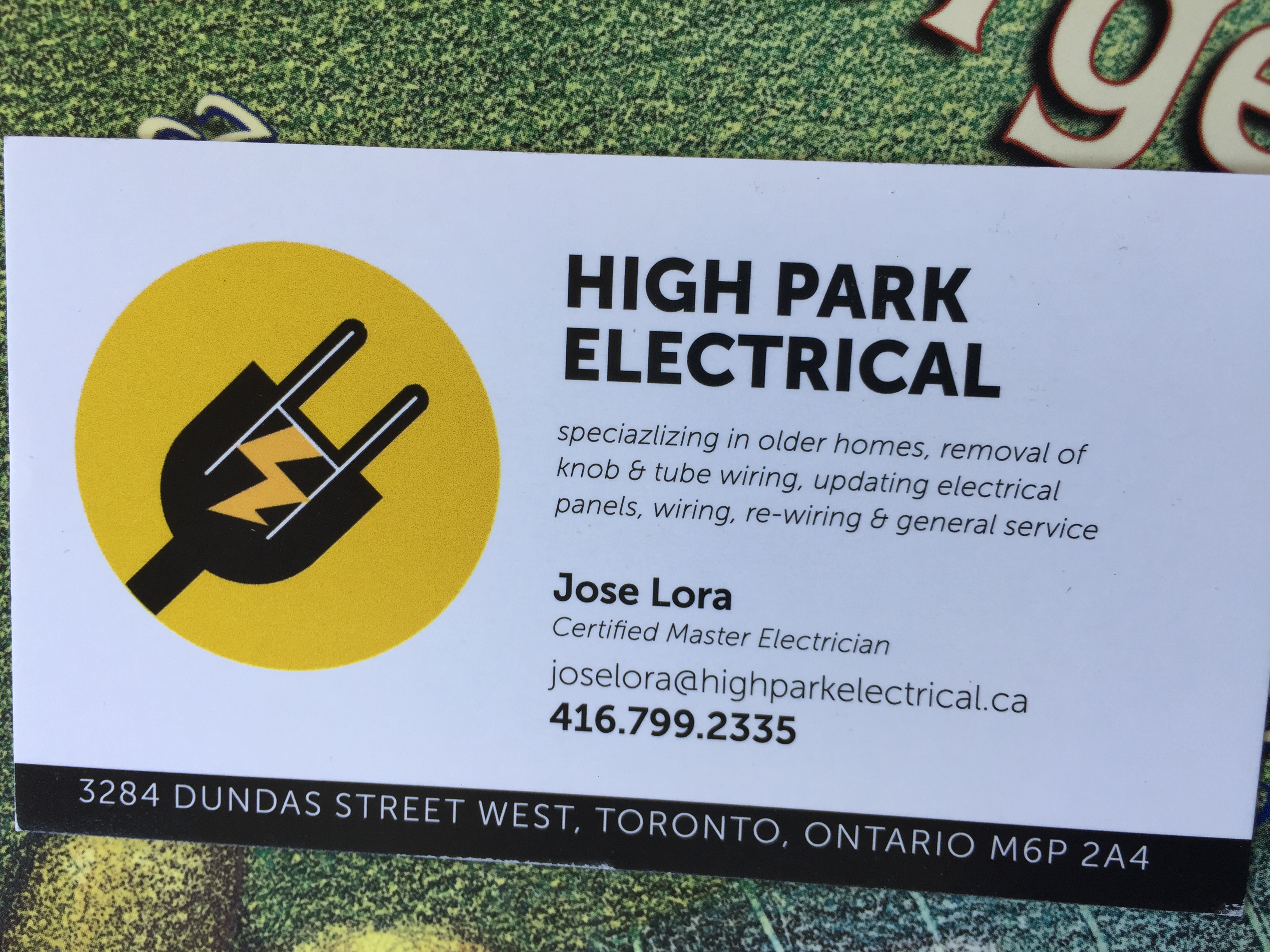 High Park Electrical Electricians In Rexdale Homestars How To Remove Knob And Tube Wiring