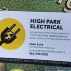 High Park Electrical's logo