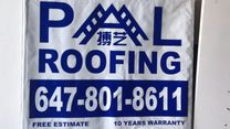 PAL ROOFING's logo